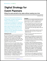 Digital Strategy for Event Planners